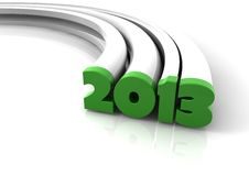 2013 rok Obrazy Stock