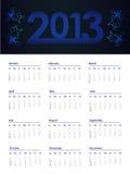 2013 rok kalendarz ilustracji