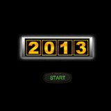 2013 start. Royalty Free Stock Image