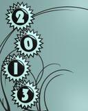 2013 sterren Stock Fotografie