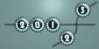 2013 sterren Stock Foto's