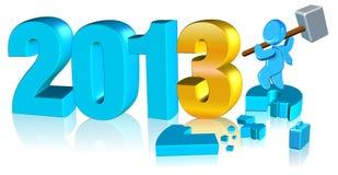 2013 szczęśliwych nowy rok Zdjęcie Royalty Free