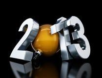 2013 szczęśliwych nowy rok Obrazy Stock
