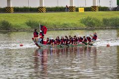 2013 Taipei Dragon Boat Festival Royalty Free Stock Image