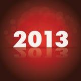 2013 theme. On dark background Stock Images
