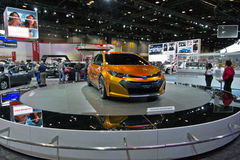 2013 Toyota Corolla. May be used to advertise for an upcoming auto show or for the sale of the Toyota Royalty Free Stock Photos