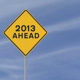 2013 vooruit Stock Fotografie