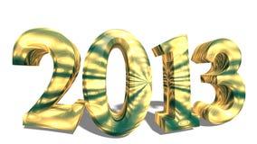 2013 w 3d Obraz Stock