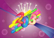 2013 wallpaper Royalty Free Stock Photos