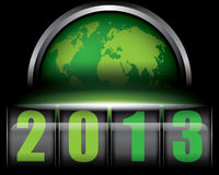 2013 World. World 2013 concept Royalty Free Stock Image