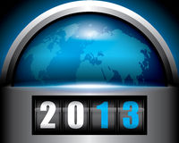 2013 World. World 2013 concept Royalty Free Stock Photography