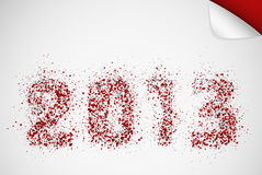 2013 year Royalty Free Stock Photo