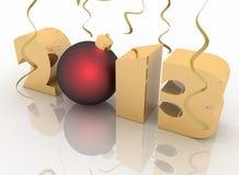 2013 year Stock Image