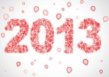 2013 year Royalty Free Stock Image