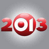 2013 year background Royalty Free Stock Photos