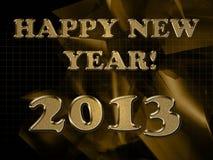 2013 year inscription Royalty Free Stock Photo