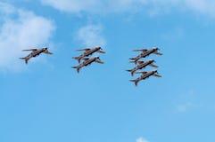 飞行表演2013年,拉多姆2013年8月30日 免版税库存图片