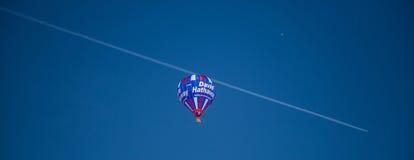 2013第35个国际热空气气球节日,瑞士 免版税库存照片