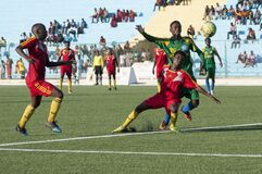 2014_01_31_Mogadishu_Football-1 Stock Photo