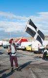 正式舞会事件的海盗2014年 库存图片