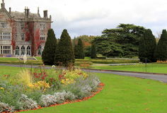 著名围拢物产,阿德尔,爱尔兰的阿德尔庄园和庭院, 2014年 库存图片