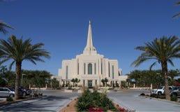 美国,亚利桑那/吉尔伯特:新的摩门教堂(2014) 库存图片