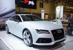 2014 Audi RS 7 Obraz Royalty Free
