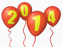 2014 ballons Images stock