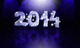 2014 Card Royalty Free Stock Photography
