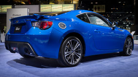 2014 Subaru BRZ. CHICAGO, IL/USA - FEBRUARY 6: 2014 Subaru BRZ car at the Chicago Auto Show (CAS) on February 6, 2014, in Chicago, Illinois Stock Photography
