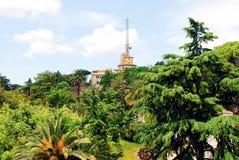 梵蒂冈庭院2014年5月30日的 库存图片