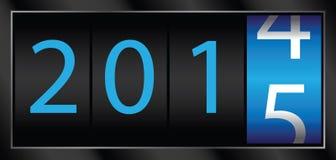 2015 νέο έτος Στοκ Φωτογραφία