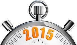 秒表2015年 库存照片