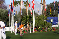 Поле для гольфа на турнире 2015 гольфа воодушевленности АНАА Стоковые Изображения RF