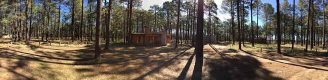 2015, Barrancas, Cabin, Canyon Royalty Free Stock Image