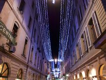 2015-christmas in geneva Royalty Free Stock Photo