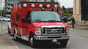 2015 Ford E350 Ambulance: Bellingham Fire EMS A1
