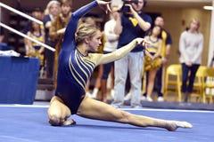 2015 NCAA Gymnastics - WVU-Penn State Royalty Free Stock Image