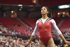 2015 NCAA-gymnastik - Maryland Royaltyfria Bilder
