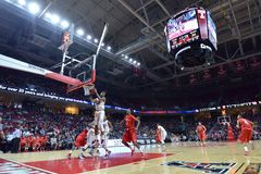 2015 NCAA Men's Basketball - Temple-Houston Royalty Free Stock Images