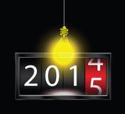 2015 neues Jahr Lizenzfreies Stockfoto