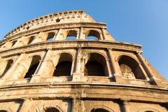 罗马- 2015年7月21日:伟大的罗马斗兽场(大剧场),罗马,意大利 免版税库存图片