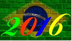 2016 Ρίο, Βραζιλία Στοκ φωτογραφία με δικαίωμα ελεύθερης χρήσης