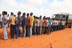 2016_12_21_Kismayo_New_Police_Recruits-2 Royalty Free Stock Image