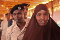 2016_12_21_Kismayo_New_Police_Recruits-6 Stock Photos