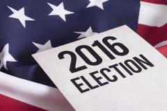 Избрание 2016 Стоковое Изображение