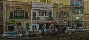 街道人生的马耳他-夏天2016年 免版税图库摄影