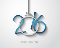 2016 Merry Chrstmas And Happy New Year Background Royalty Free Stock Photo