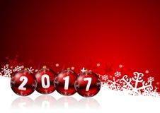 2017 New Years Illustration Royalty Free Stock Photo