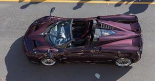 2017 Pagani  at Modesto cars and coffee 2018 Stock Photos